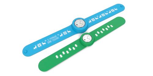 слэп-часы с нанесением логотипа