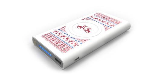 Внешний аккумулятор с УФ печатью