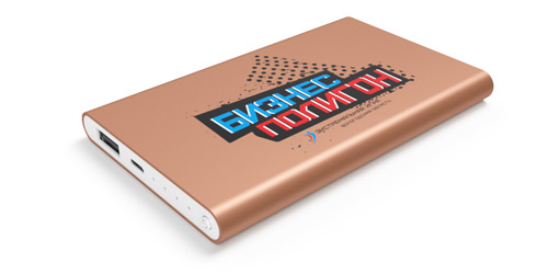 Портативное зарядное устройство Power bank под нанесение логотипа