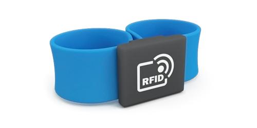 RFID браслеты слэп