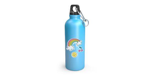 Спортивная бутылка с логотипом (с вашим дизайном)
