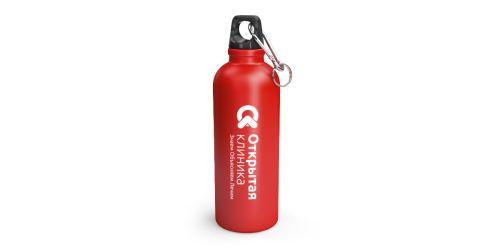 Бутылка для воды с нанесением логотипа (с вашим дизайном)